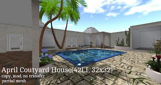 April Courtyard House