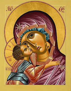 Icon of the Madonna & Child