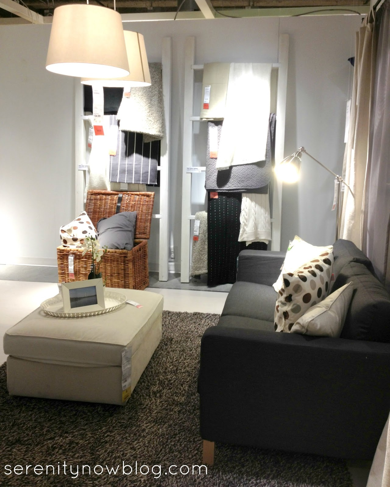 Serenity Now IKEA Shopping Trip and Home Decor Ideas
