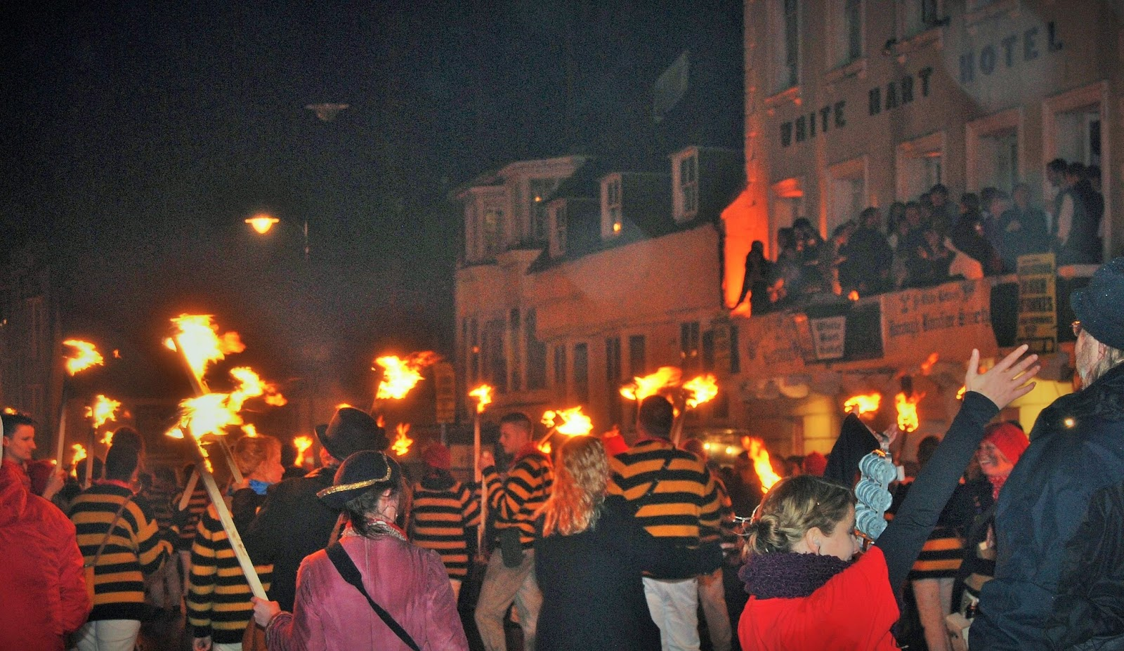 Lewes Bonfire, photo by Modern Bric a Brac
