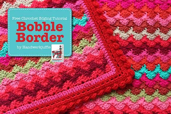 Haken Patroon Bobble Border Handwerkjuffie