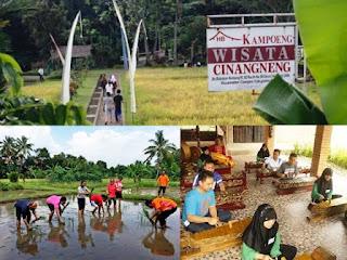 Kampung Wisata Cinangneng: Tempat Berlibur Sambil Belajar yang Menyenangkan Bagi Keluarga
