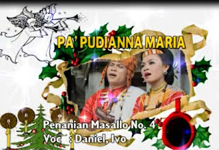 Download Lagu Natal Toraja Pa' Pudianna Maria (Daniel feat Ivo)