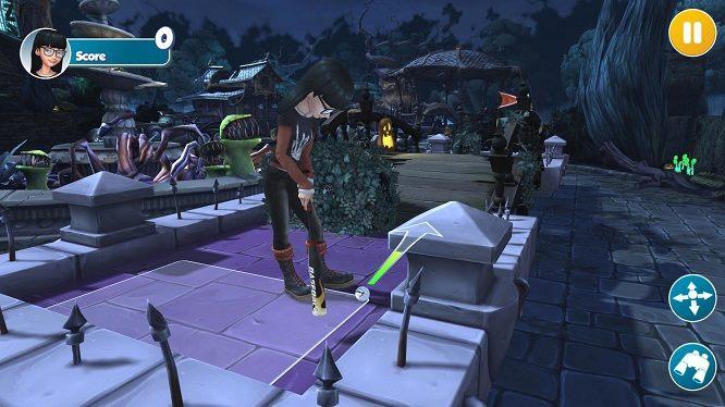 infinite minigolf gameplay screenshot 2017