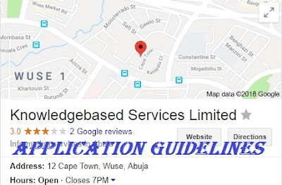 Knowledgebased Services Limited | Application Available