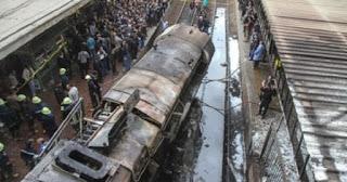 شهود عيان على حريق محطة مصر يكشفوا عن سر الفتاة التى كانت الى جوار سائق قطار محطة مصر