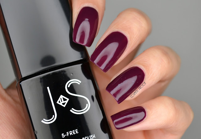 J & S Nails 1 Step Gel Polish in SR7 Review Swatch