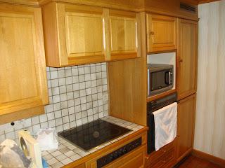 keuken voor renovatie