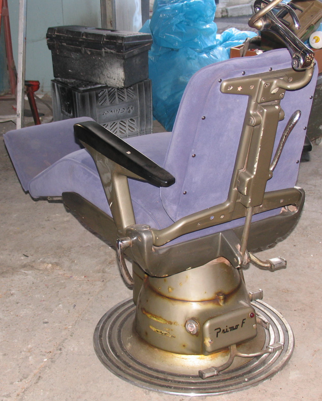 vintage dentist chair cocoon swing 4d retail antique 39s for sale