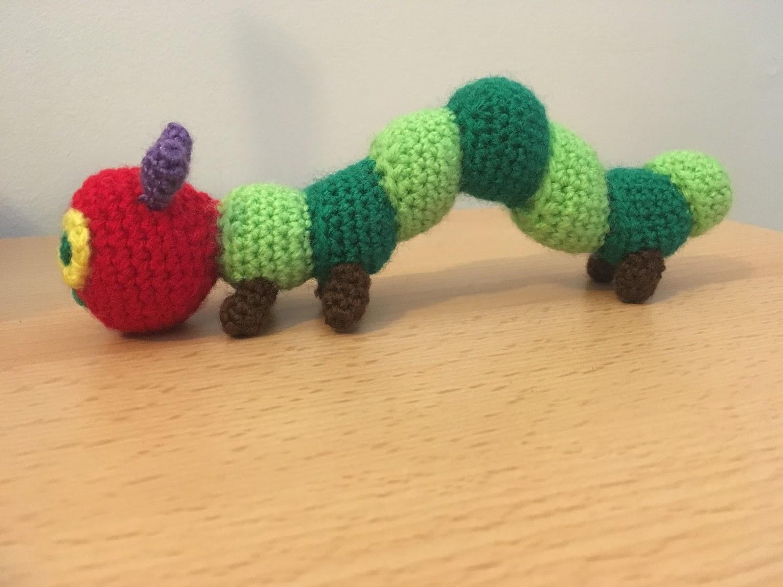 Crochet... Amigurumi : Hungry Caterpillar