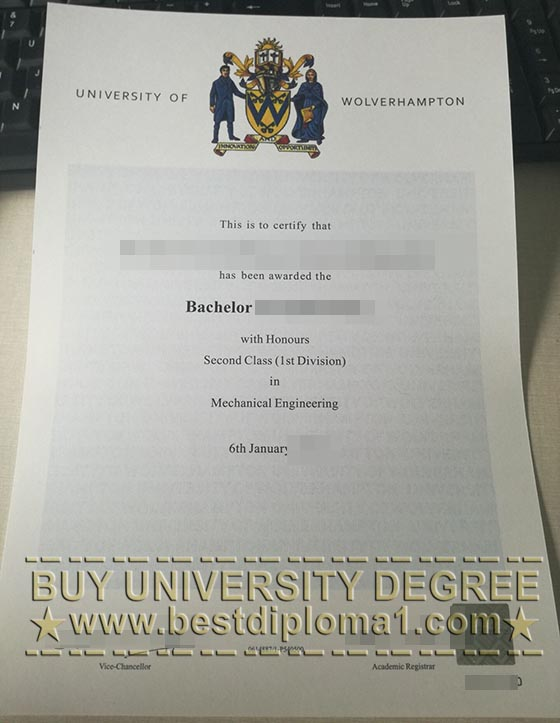 buy UoW degree, fake Wolves diploma