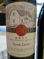 Hidden Bench Terroir Caché 2011 - VQA Beamsville Bench, Niagara Peninsula, Ontario, Canada (89 pts)
