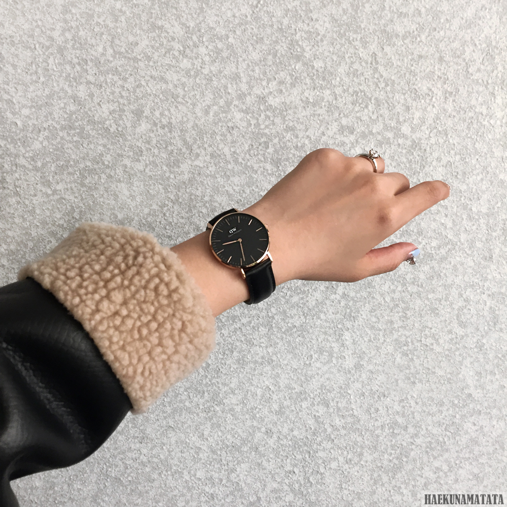 Daniel Wellington Classic Black 36mm