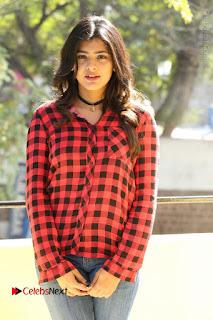 Actress Hebah Patel Stills in Blue Denim Jeans at Nanna Nenu Naa Boyfriends Movie Success Meet  0059.JPG