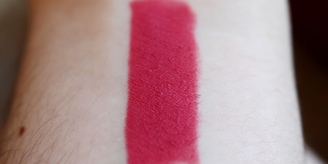 swatch matte lipstick angel NYX