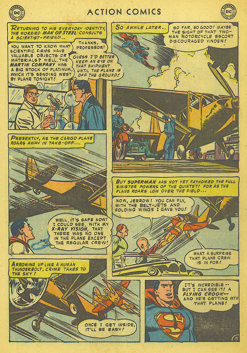 Read online Action Comics (1938) comic -  Issue #175 - 7