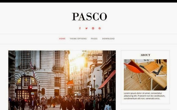 Pasco blogger magazine template free download -  Daily Updates with Professional and Responsive Blogger Templates for photography, news, personal blogs and portfolio design