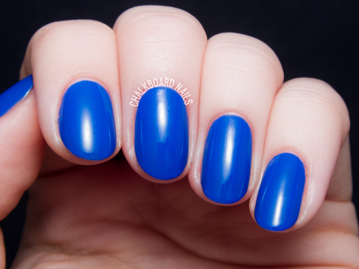 Serum No. 5 Indi-glo via @chalkboardnails