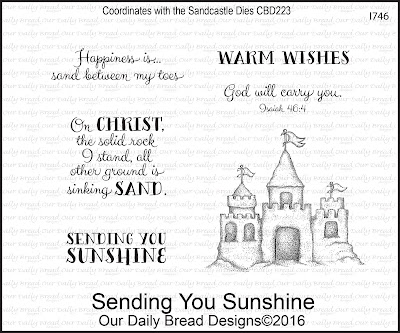 Our Daily Bread Designs Stamp Set: Sending You Sunshine