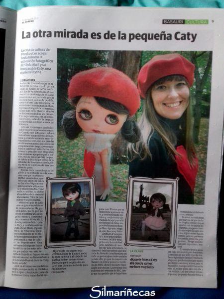 Caty blythe y silmariñecas en el periódico El Correo