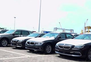 Lô BMW ngoài cảng thanh lý giá rẻ