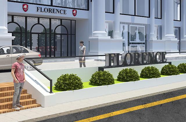 Sảnh trước dự án Florence
