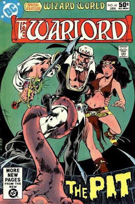 cover of Warlord #41 (1981). Property of DC comics.