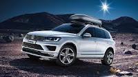SUV  Volkswagen Touareg : prototipo di lusso  e tecnologico