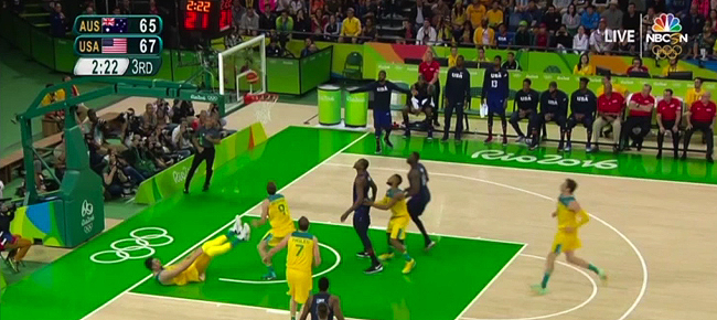 USA vs. Australia - Full Highlights (VIDEO) Rio Olympics 2016 - Basketball