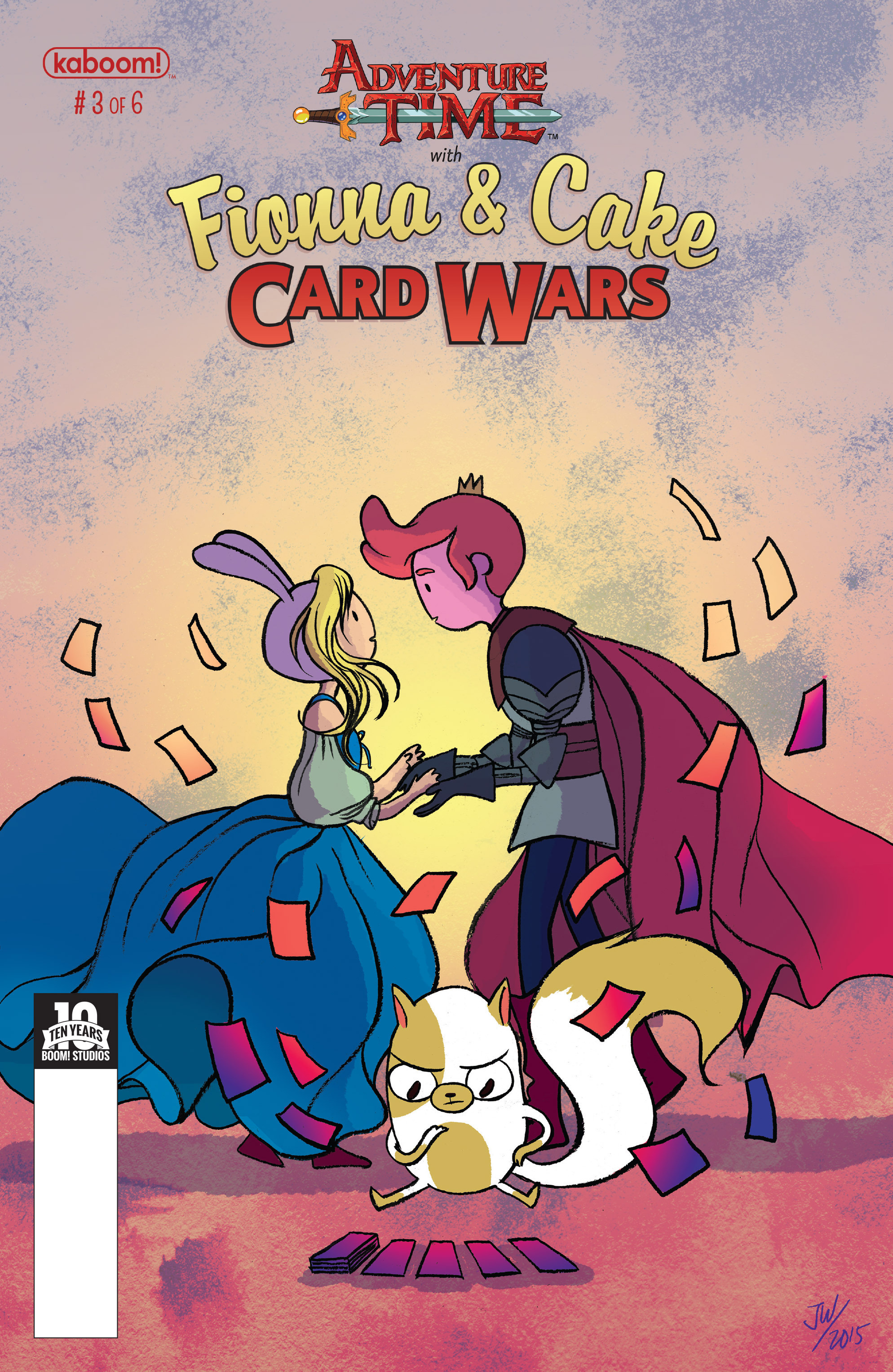 Adventure Time Fionna and Cake Card Wars 3 Page 1