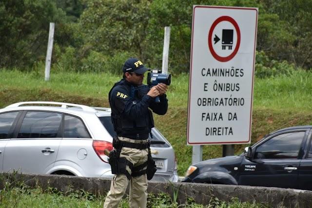 Polícia Rodoviária começa a Operação Ano Novo nas estradas