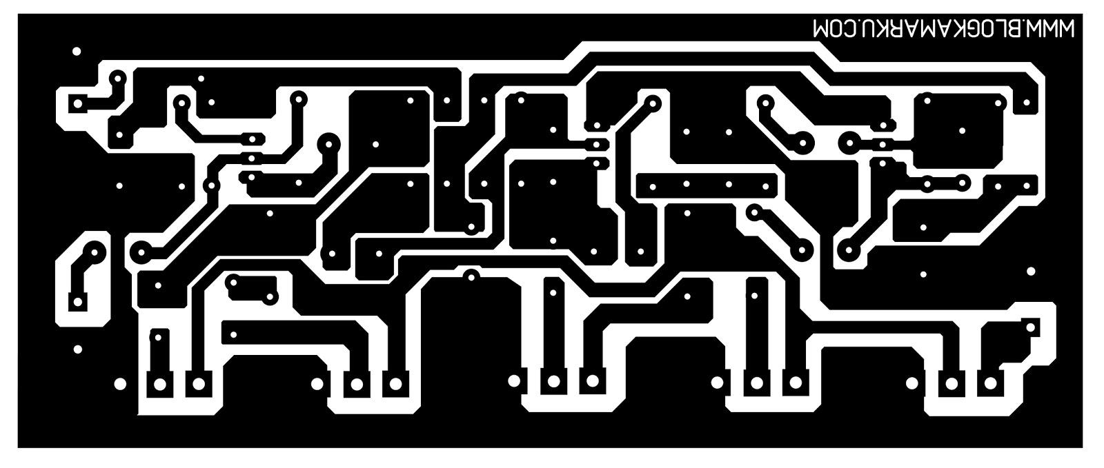 pcb layout Namec Tone Control - Blogkamarku.com