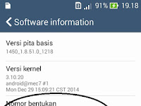 Cara Upgrade / Update Asus Zenfone 4 ke Lollipop Android 5.0