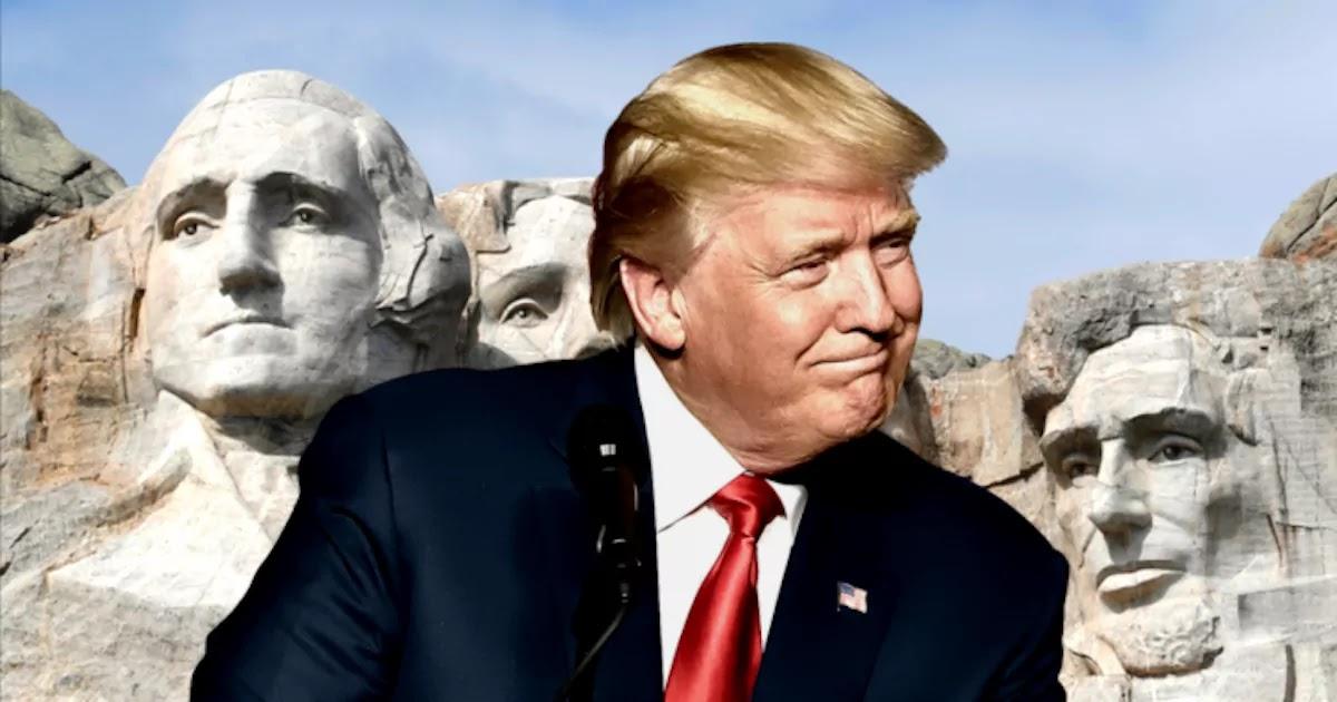 Report Reveals That Trump Approached South Dakota Governor To Ask How He Can Be Added To Mount Rushmore