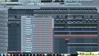 Hard Trap Beat in FL Studio 11 | FL Studio Full