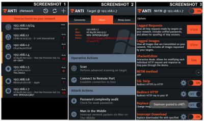 اهم و افضل تطبيق ZANTI لمراقبة الهواتف المتصلة بشبكتك وامكانية التجسس عليهم