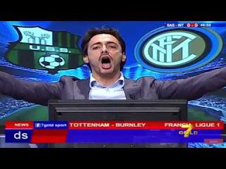 Sassuolo Inter 0-1 cronaca Filippo Tramontana Serie A video