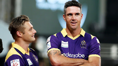 Luke Wright & Kevin Pietersen - Quetta Gladiators