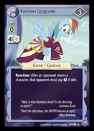 MLP Fashion Upgrade The Crystal Games CCG Card