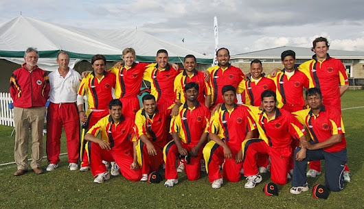 The Germans in England - ICC Europe Division 2 2014
