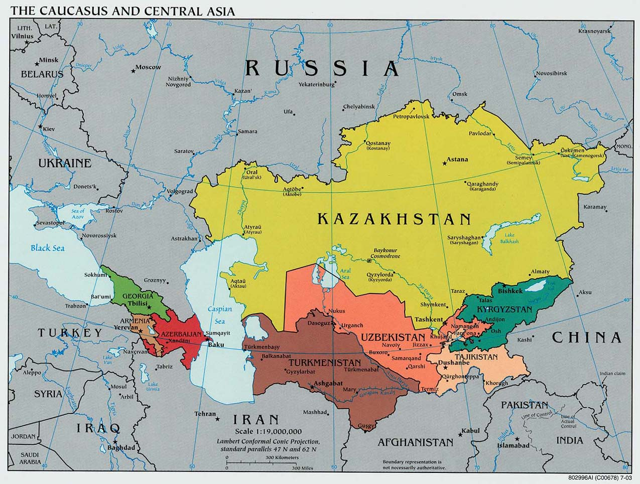 ISA Global South Caucus: Update On Developing Eurasia