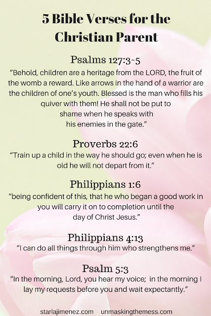 Bible Verses for the Christian Parent