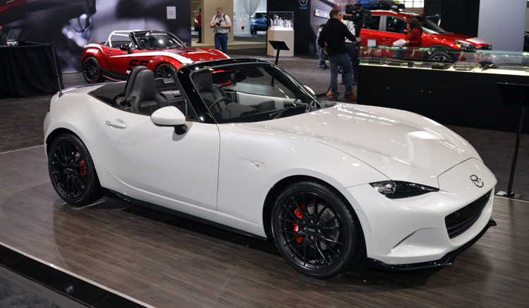 Mazda To Debut More Aggressive 2016 Mx 5 Club Edition In New York Fan Fest Smashes Records Inside Word Concerning S Future Divulged