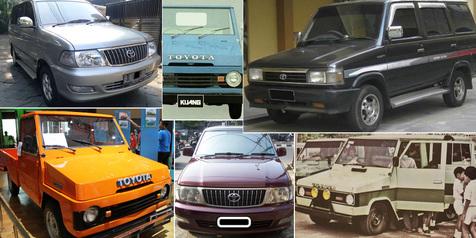 6 Generasi Toyota Kijang dari yang Tertua Hingga Sekarang