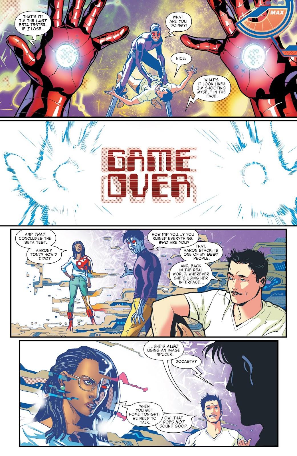Read online Tony Stark: Iron Man comic -  Issue #3 - 18