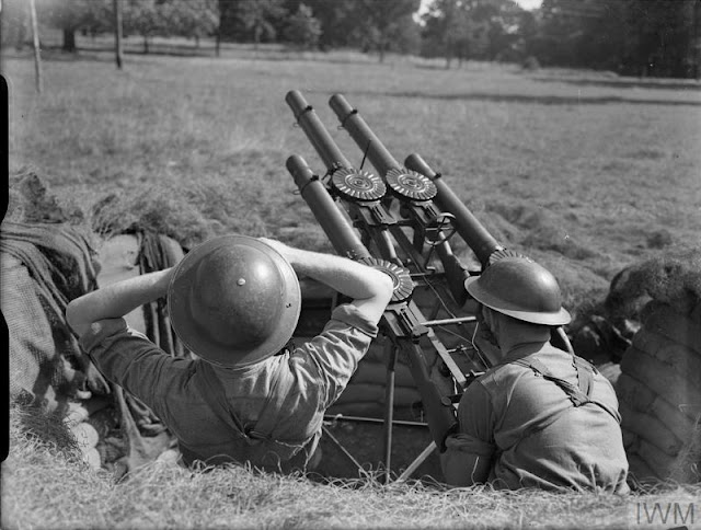 British troops with Lewis Gun, 18 August 1941 worldwartwo.filminspector.com