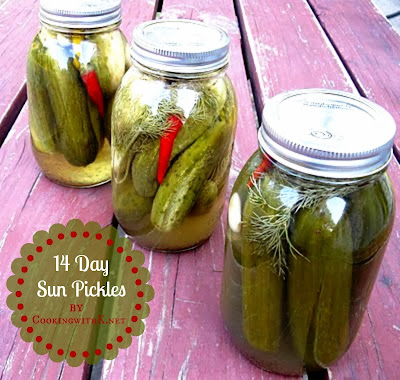 14 Day Sun Pickles