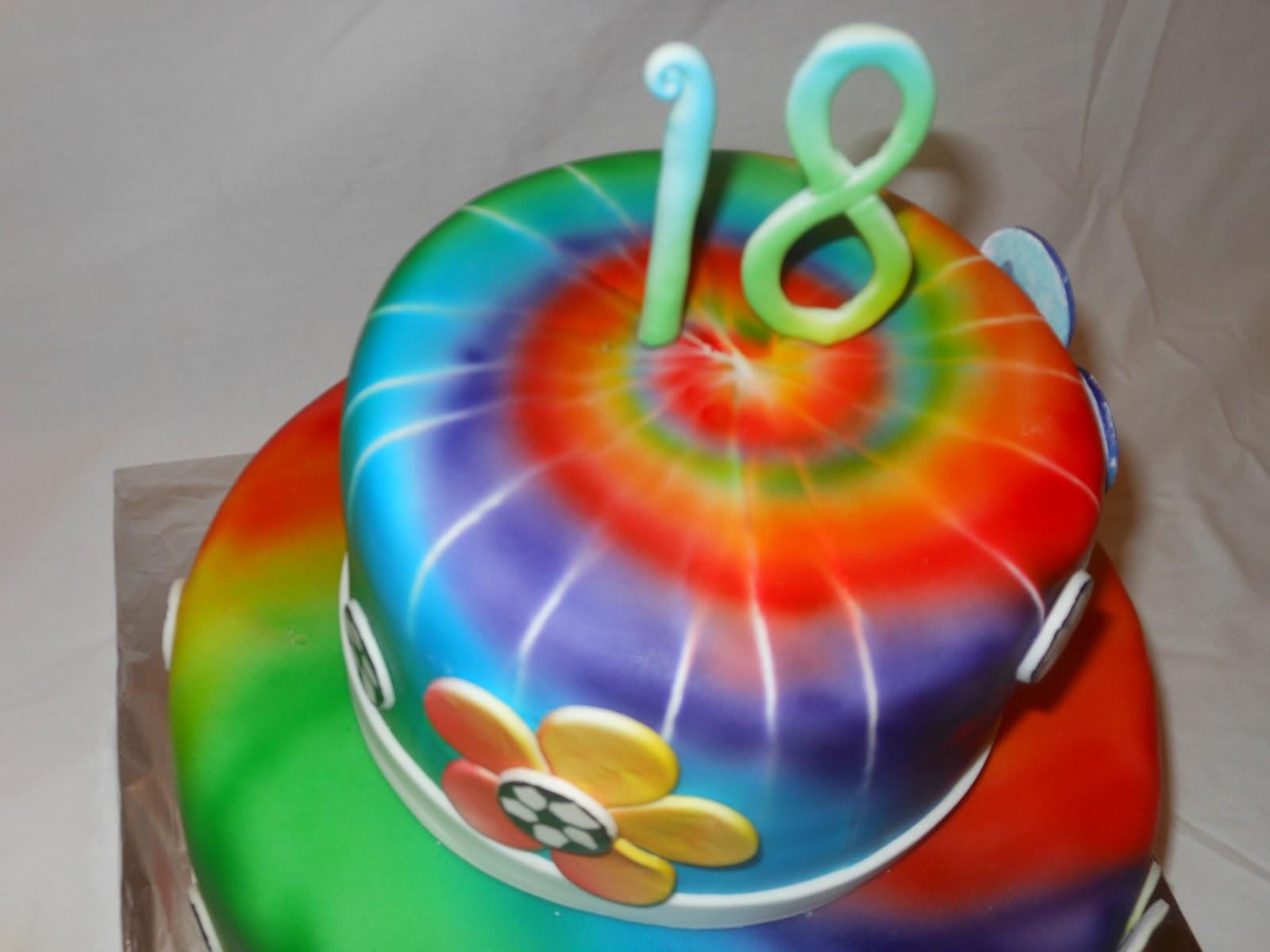 It S A Piece Of Cake Tie Dye Soccer Birthday Cake