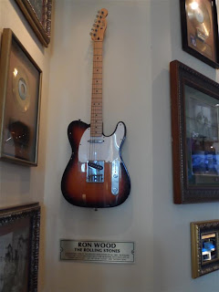 "Guitarra do ""The Rolling Stones"" no Hard Rock"
