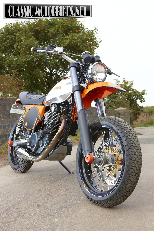 Racing Caf U00e8  Yamaha Xt 500 Supermoto By Dave Newitt